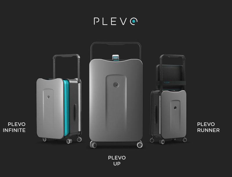 Organized Phone-Charging Luggage