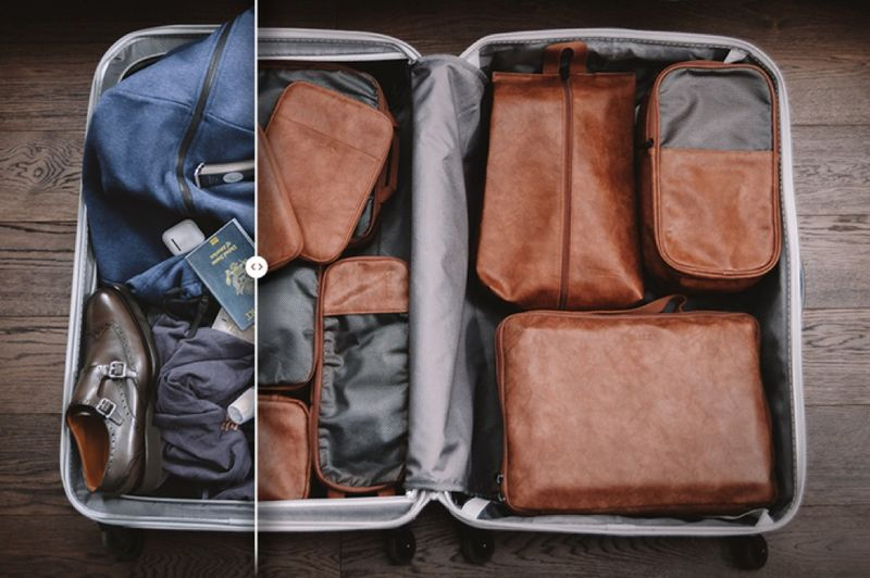 Compartmentalized Packing Cubes