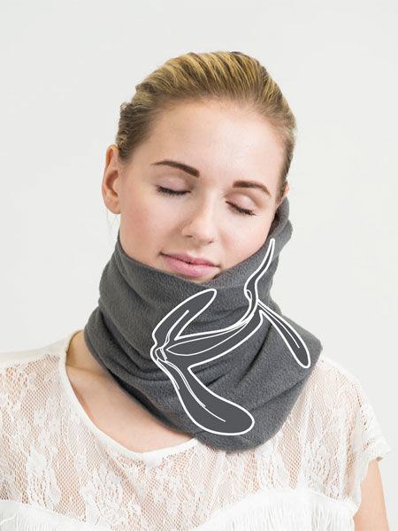 Scarf-Inspired Travel Pillows
