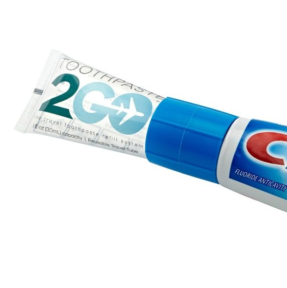 Refillable Travel Toothpastes