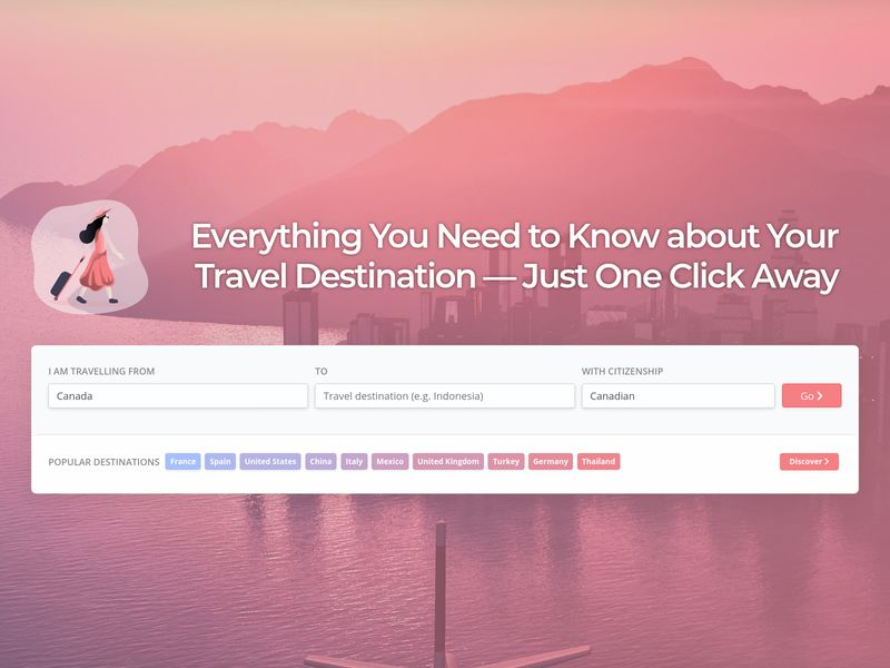 Travel Destination Info Aggregators