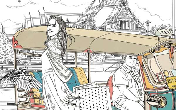Bewildering Bangkok Illustrations
