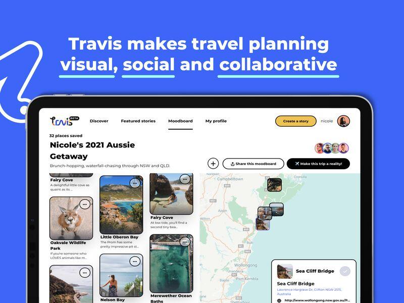 Visual Travel Planning Platforms