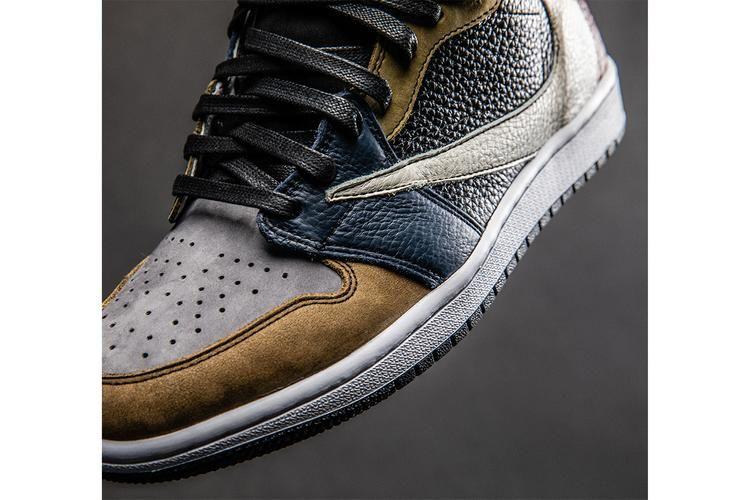 d9f99fe28a7 Custom Commemorative Shoes : Travis Scott Shoes