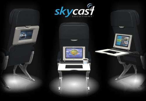 In-Flight Multimedia Trays