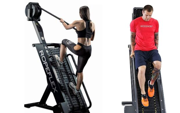 Rope Climber Exercise Machines