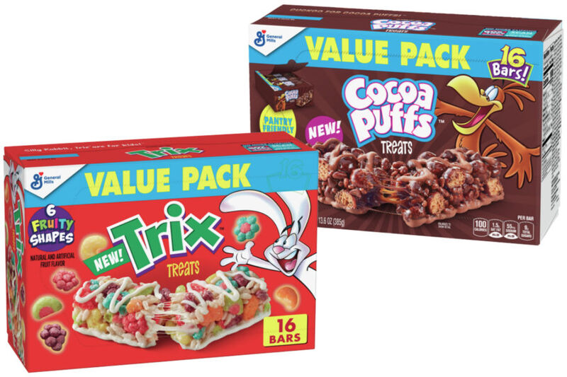 Breakfast Cereal Treat Bars