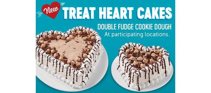 Romantic Frozen Dessert Cakes