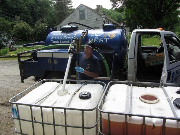Recycled Urine Plant Fertilization