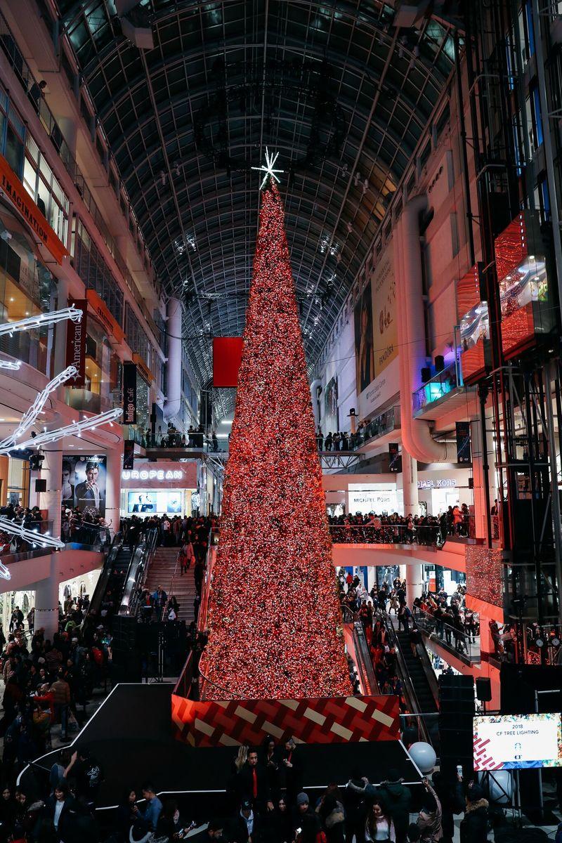 Festive Christmas Lighting Events