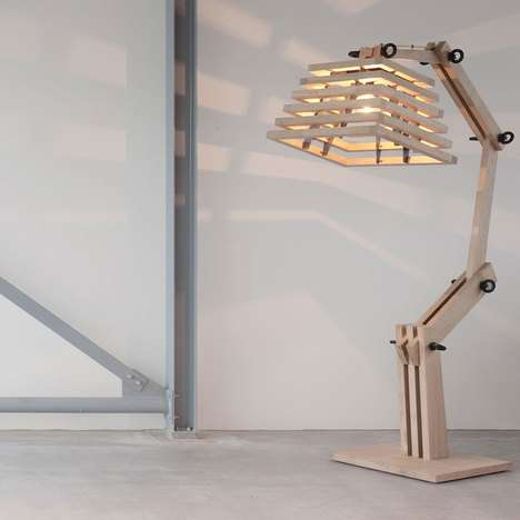 Natural Timber Lamps