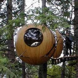 Tree Pods Free Spirit Spheres Elevate Outdoor Space