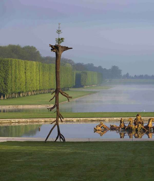 Off-Putting Tree Sculptures