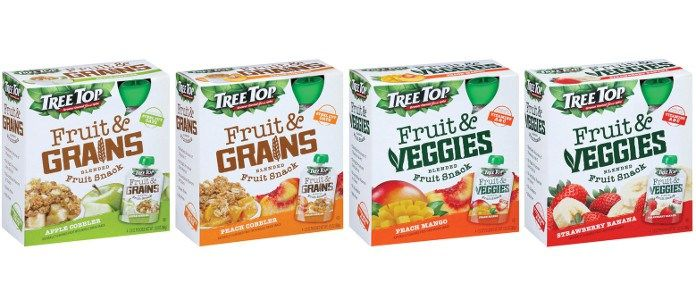 Fruit Grain Snack Pouches