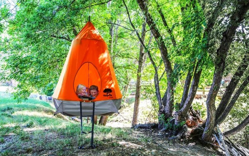 Suspended Treehouse Tents & Suspended Treehouse Tents : treehouse design