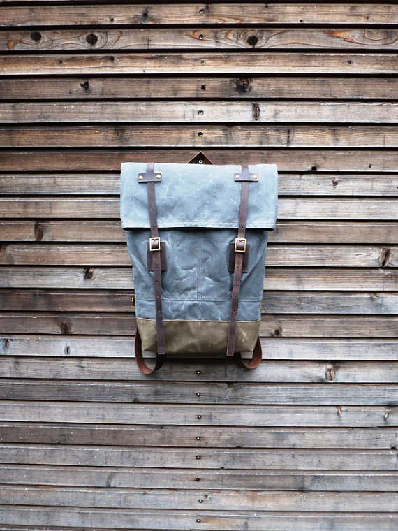 Recycled Belgian Backpacks