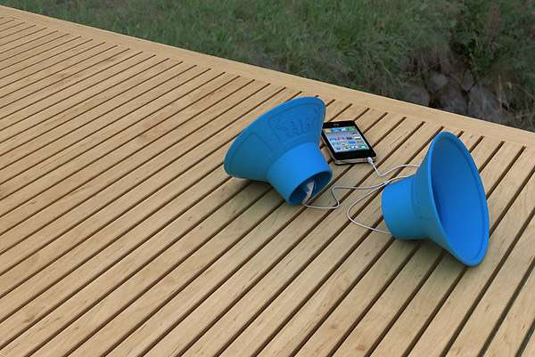 Megaphone Speakers