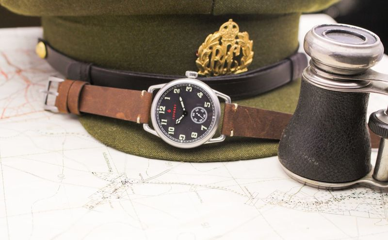 Old-Fashioned Military Timepieces
