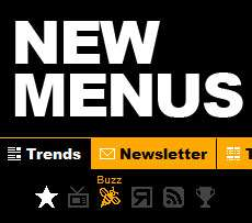 Trend Hunter 'Face Lifts' Menus & Adds Top 20 Scroller
