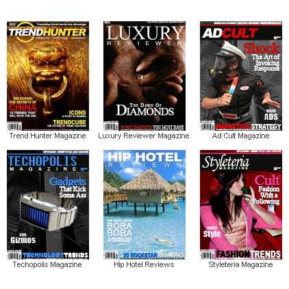 Trend Hunter Network Launches Sixth Online Magazine