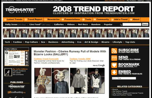 TREND HUNTER Upgraded for the Insatiably Curious
