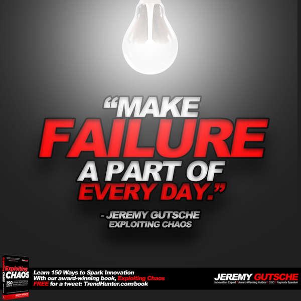 Make Failure a Part of Every Day