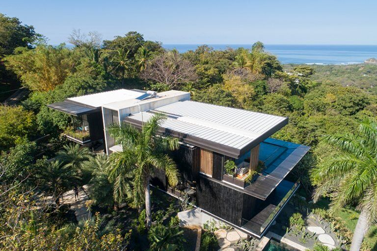 Charred Timber-Crafted Homes