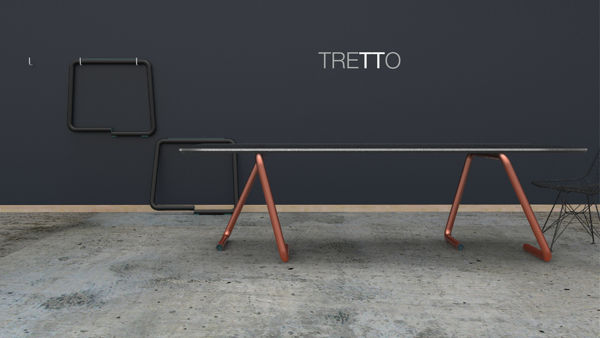 Arm-Inspired Table Trestles