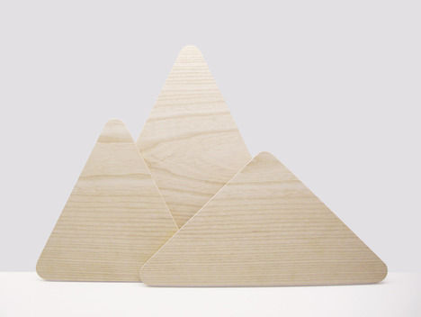 Mountain Mimicking Chopping Boards