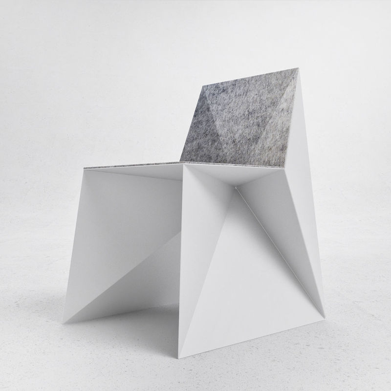 Origami-Inspired Chairs