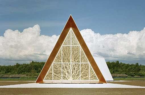 41 examples of triangular architecture angular arboreal sanctuaries publicscrutiny Images
