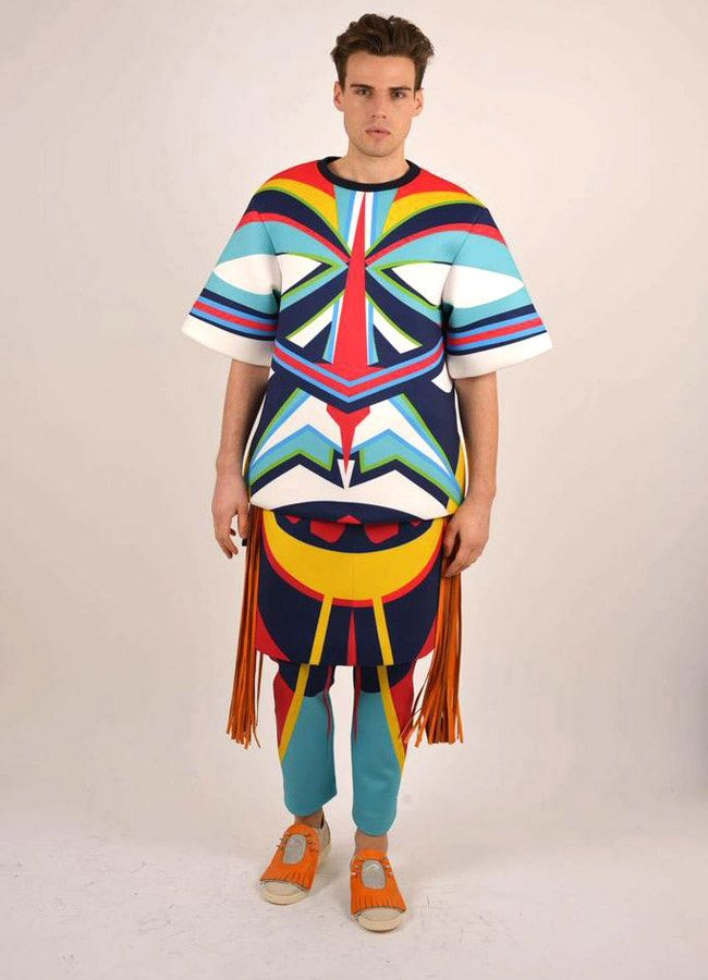 Technicolored Tribal Fashion