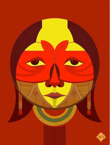 Expressive Tribal Illustrations