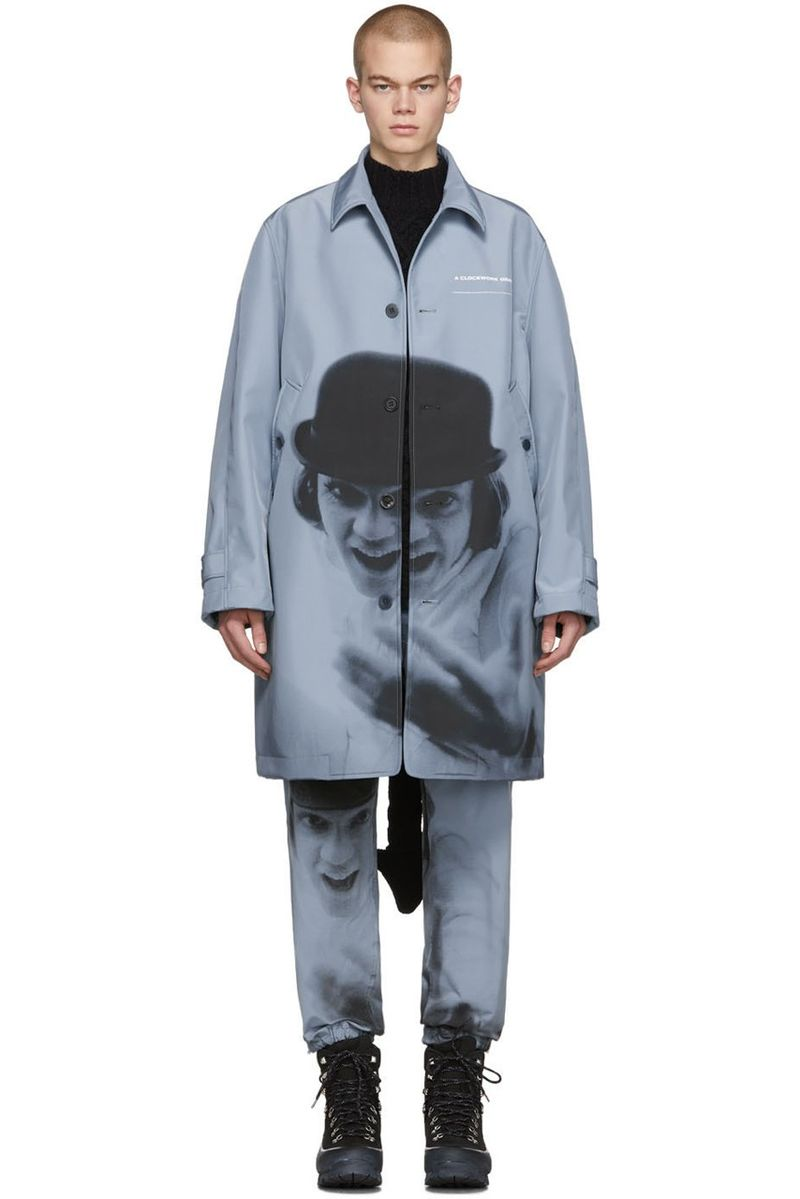 Dystopian Crime Film-Inspired Fashion