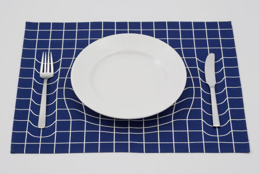 Mind-Bending Dinnerware