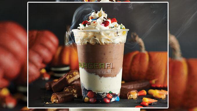 Candy-Packed Halloween Milkshakes