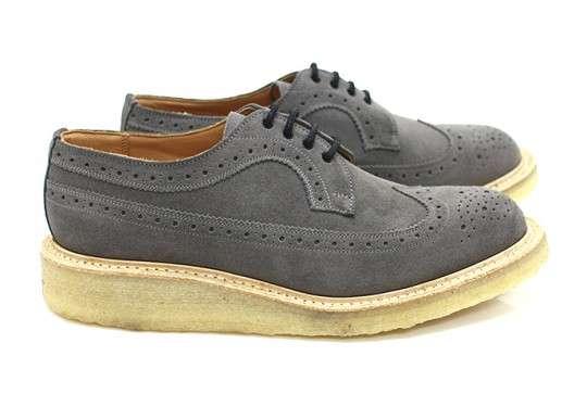 Grey Elegent Brogues Golosh Are Shoes Tricker's Hipster Hybrid xrwqZBnrp