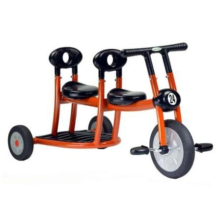 Two-Child Play Trikes