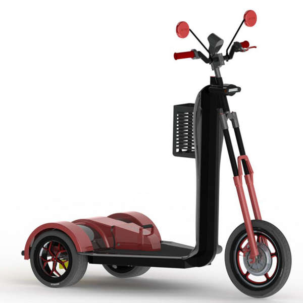Italian City Car-Inspired Scooters