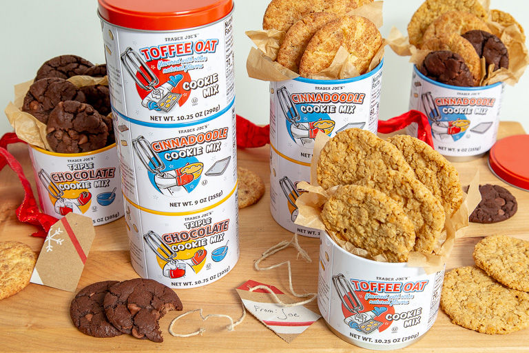 Multi-Flavor Cookie Mixes