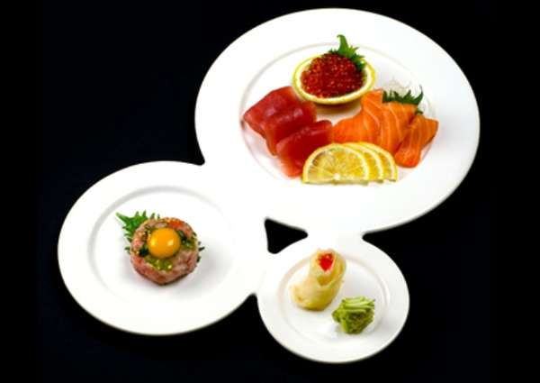 Three Course Dinnerware