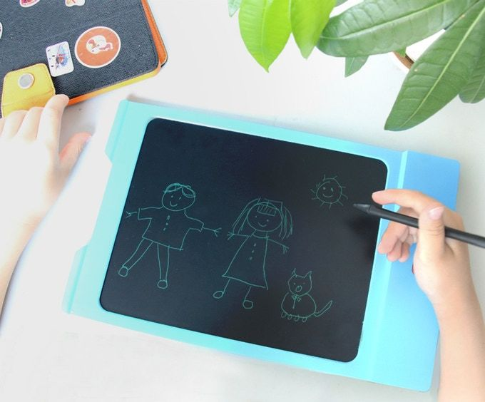 Solar-Powered Writing Tablets