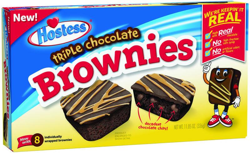 Mini Triple Chocolate Brownies