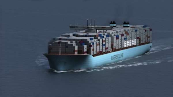 Carbon-Cutting Cargo Ships