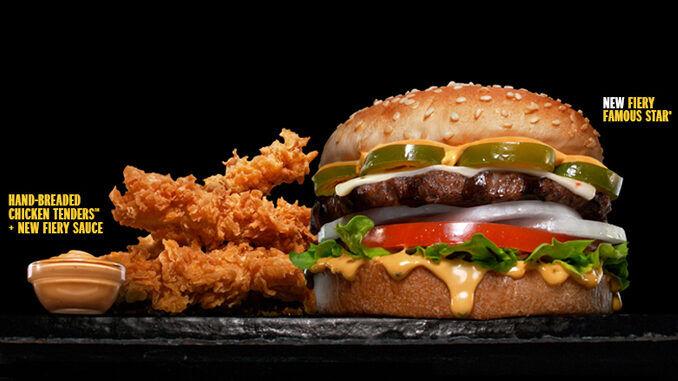 Fiery Triple Patty Burgers