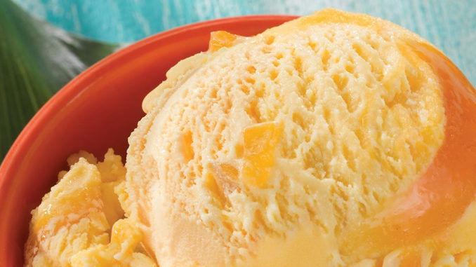 Mango-Studded Ice Creams