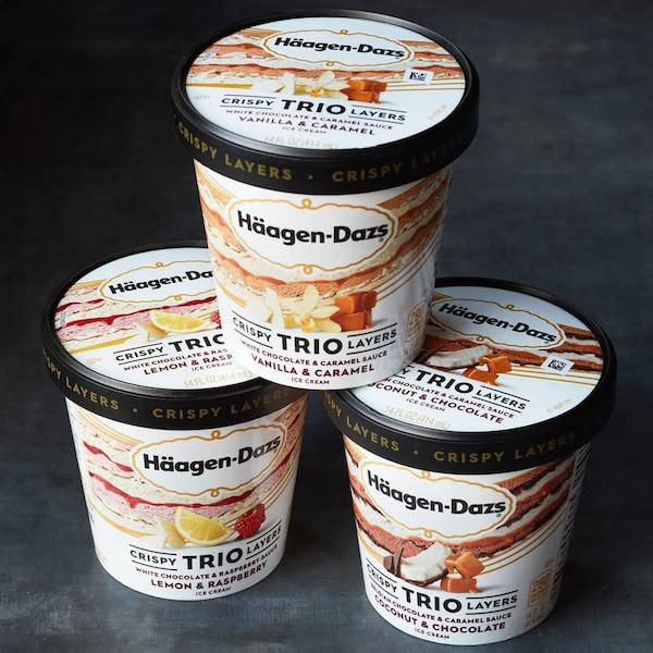 Triple-Layer Ice Cream Flavors
