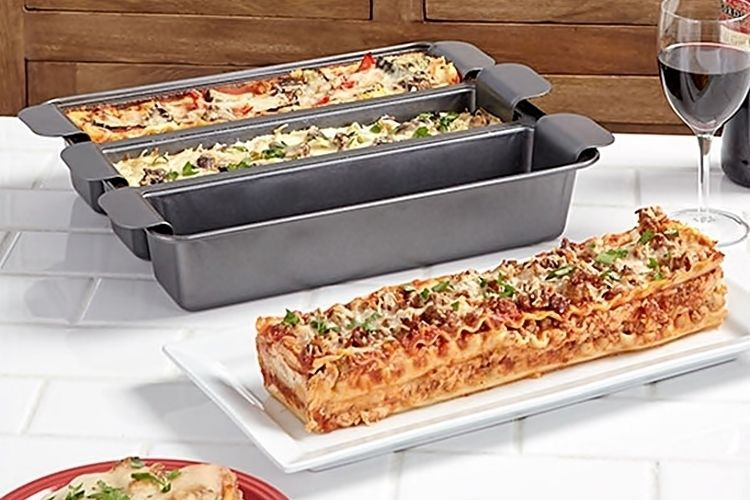 Triple Variety Lasagna Pans