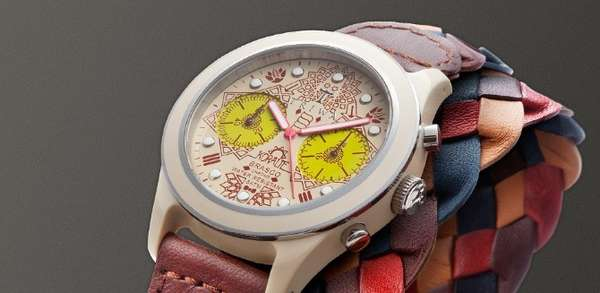 Intricately Patterned Timepieces