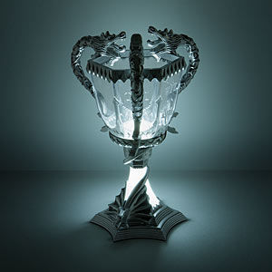 Fantasy-Themed Lamp Decor